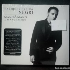 CDs de Música: ENRIQUE HEREDIA NEGRI - MANO A MANO (A MANZANERO) - CD 2012 - SONY MUSIC (NUEVO / PRECINTADO). Lote 278982168