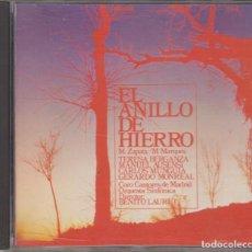 CDs de Música: EL ANILLO DE HIERRO CD ALHAMBRA ZARZUELA 1990 TERESA BERGANZA MANUEL AUSENSI. Lote 278983023