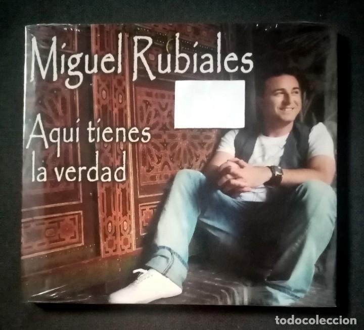 MIGUEL RUBIALES - AQUI TIENES LA VERDAD - CD (NUEVO / PRECINTADO) (Música - CD's Flamenco, Canción española y Cuplé)
