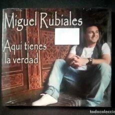 CDs de Música: MIGUEL RUBIALES - AQUI TIENES LA VERDAD - CD (NUEVO / PRECINTADO). Lote 278983103
