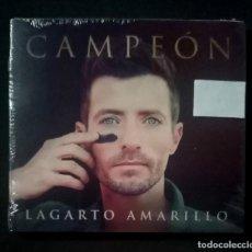 CDs de Música: LAGARTO AMARILLO - CAMPEÓN - CD 2017 - CME (NUEVO / PRECINTADO). Lote 278983308