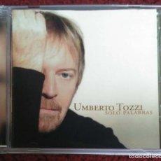 CDs de Música: UMBERTO TOZZI (SOLO PALABRAS) CD 2005. Lote 279246223