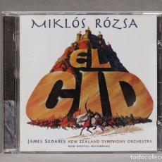 CDs de Música: CD. MIKLÓS RÓZSA. EL CID. Lote 279324198