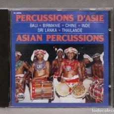 CDs de Música: CD. PERCUSSIONS D'ASIE. Lote 279324243