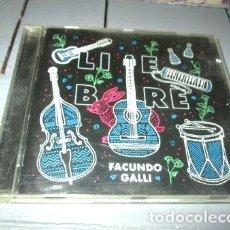 CDs de Música: -CD FACUNDO GALLI LIEBRE FOLK. Lote 279195203
