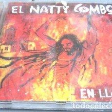 CDs de Música: -CD EL NATTY COMBO EN LLAMAS NUEVO REGGAE. Lote 279197113