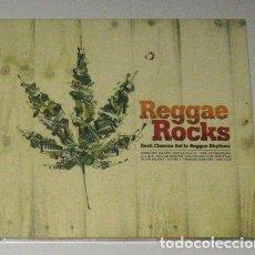 CDs de Música: -REGGAE ROCKS ROCK CLASSICS SET TO REGGAE RYTHMS CD. Lote 279197233