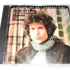 CDs de Música: -BOB DYLAN BLONDE ON BLONDE BELGRANO NO HAGO. Lote 279195098