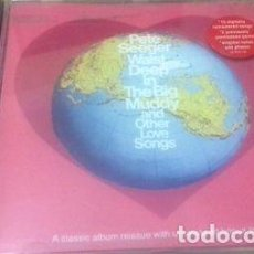 CDs de Música: -PETE SEEGER CD WAIST DEEP IN THE BIG MUDDY AND OTHER LOVE. Lote 279195213