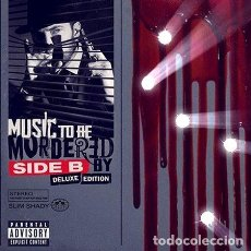 CDs de Música: -EMINEM MUSIC TO BE MURDERED SIDE B 2 CD DELUXE NUEVO 2021. Lote 279217853