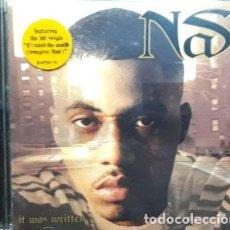 CDs de Música: -NAS IT WAS WRITTEN USA IMPORT CD. Lote 279217878