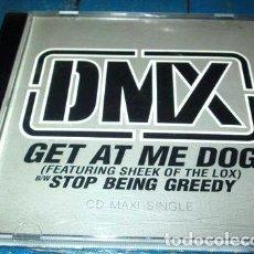 CDs de Música: -CD MAXI DMX GET AT ME DOG MADE IN USA C4. Lote 279218183