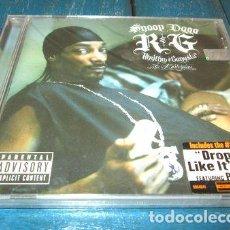 CDs de Música: -CD SNOOP DOGG RG RHYTHM GANGSTA MASTERPIECE NUEVO C3. Lote 279218288