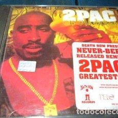 CDs de Música: -CD TUPAC 2PAC NU MIXX KLAZZICS RI T. Lote 279218353