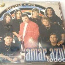 CDs de Música: -CD AMAR AZUL GRACIAS A VOS ORIGINAL. Lote 279241048