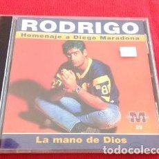 CDs de Música: -RODRIGO HOMENAJE A MARADONA LA MANO DE DIOS IND ARG A9. Lote 279241088