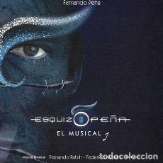 CDs de Música: -FERNANDO PENA CD ESQUIZOPENA EL MUSICAL RABIH MIZRAHI. Lote 279243723