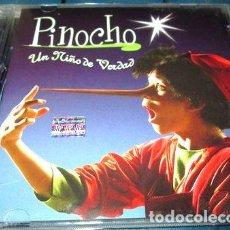 CDs de Música: -CD PINOCHO UN NINO DE VERDAD. Lote 279243743