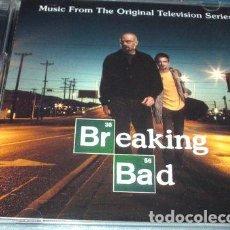 CDs de Música: -CD BREAKING BAD NUEVO LOS CUATES DE SINALOA SOUNDTRACK. Lote 279243768
