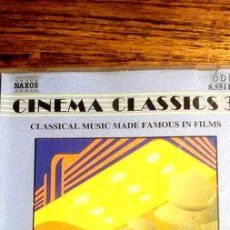 CDs de Música: -CINEMA CLASSICS 3 CD. Lote 279243843