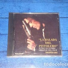 CDs de Música: -LA BALADA DEL PISTOLERO BANDA SONORA CD ARG MACEO DISQUERIA. Lote 279243948