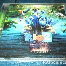 CDs de Música: -CD SOUNDTRACK RIO 2 JANELLE MILTON RITA MORENO DIFUSION OST. Lote 279243983