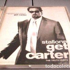 CDs de Música: -CD SOUNDTRACK GET CARTER STALLONE MOBY OAKENFOLD C4. Lote 279244003