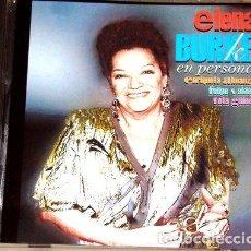 CDs de Música: ELENA BURKE EN PERSONA CD CUBANO KKTUS. Lote 279245928