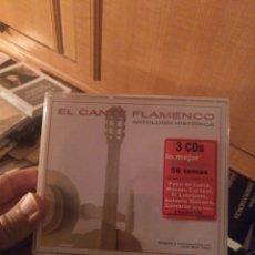 CDs de Música: EL CANTE FLAMENCO. 3 DISCOS. Lote 279329408