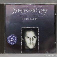 CDs de Música: CD. DANCES WITH WOLVES. JOHN BARRY. Lote 279329958
