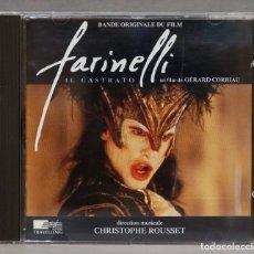 CDs de Música: CD. ROUSSET. FARINELLI, IL CASTRATO. Lote 279330113