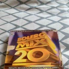 CDs de Música: BOLERO MIX 20 - PRIMERA EDICIÓN CON ERROR EN TRACKLIST DE FÁBRICA. Lote 279414798
