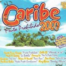 CDs de Música: CD CARIBE 2007 2 CDS + DVDS COMO NUEVO AQUITIENESLOQUEBUSCA ALMERIA. Lote 279428293