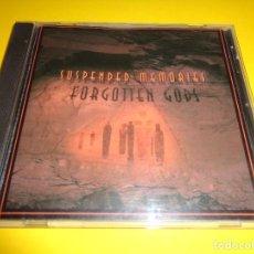 CDs de Música: SUSPENDED MEMORIES / FORGOTTEN GODS / STEVE ROACH / JORGE REYES / SUSO SAIZ / CD. Lote 279436743
