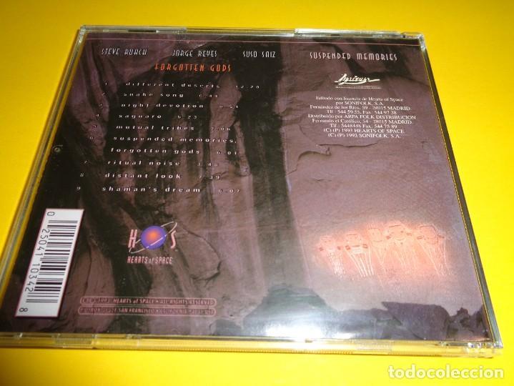 CDs de Música: SUSPENDED MEMORIES / FORGOTTEN GODS / STEVE ROACH / JORGE REYES / SUSO SAIZ / CD - Foto 2 - 279436743