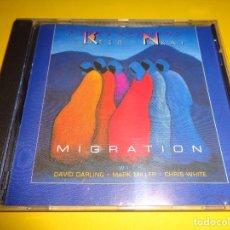 CDs de Música: PETER KATER & CARLOS NAKAI / MIGRATION / CD. Lote 279442583