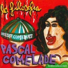 CDs de Musique: PASCAL COMELADE – LA FILOSOFIA DEL PLAT COMBINAT - NUEVO Y PRECINTADO. Lote 279464028