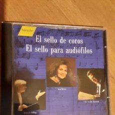 CDs de Música: EL SELLO DE COROS - EL SELLO PARA AUDIOFILOS. Lote 279473993