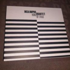 CDs de Música: INXA IMPRO QUARTET - KIND OF TRAD. Lote 279476573