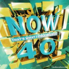 CDs de Música: NOW 40. THAT'S WHAT I CALL MUSIC. 2 X CD. Lote 279514208