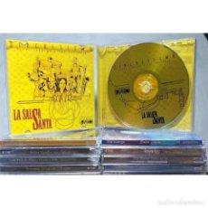 CDs de Música: LA SALSA SANTA OSCAR LEDEZMA Y LOS OKANANIS – SINCRETISMO. Lote 279515973