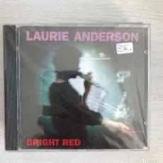 CDs de Música: LAURIE ANDERSON - BRIGHT RED (1994) - CD WEA NUEVO. Lote 279520663