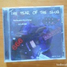 CDs de Música: CD THE YEAR OF THE SLUG - DEFENESTRATION / SCURGE - LEER DESCRIPCION (U5). Lote 279520878