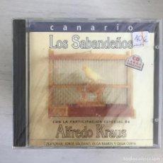 CDs de Música: SABANDEÑOS - CANARIO - ALFREDO KRAUS - OLGA RAMOS - CD MANZANA 1993. Lote 279523163