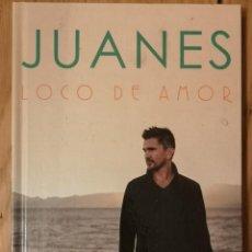 CDs de Música: JUANES – LOCO DE AMOR CD + LIBRO. Lote 279528873