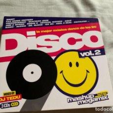 CD de Música: DISCO 90 VOL. 2 MIXED BY DJ TEDU (BLANCO Y NEGRO). Lote 279561728