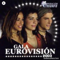 CDs de Música: OPERACION TRIUNFO, GALA EUROVISIÓN 2003. Lote 279588223