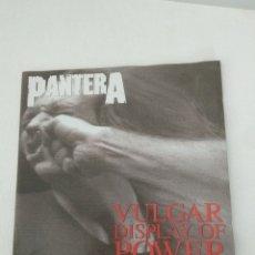 "CDs de Música: PANTERA "" VULGAR DISPLAY OF POWER "". Lote 279592623"