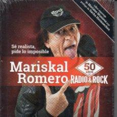 CDs de Música: MARISKAL ROMERO* – 50 AÑOS DE RADIO & ROCK CD+LIBRO. Lote 279592633