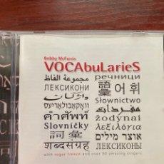 CDs de Música: BOBBY MCFERRIN-VOCABULARIES-2010-EXCELENTE ESTADO. Lote 279594293